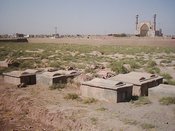 The Jewish cemetery in Herat, Afghanistan