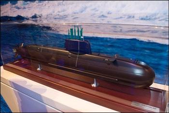 Israeli Dolphin Submarine