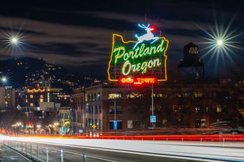"The ""Portland Oregon"" Sign"