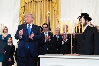 White House Hanukkah Reception 2019