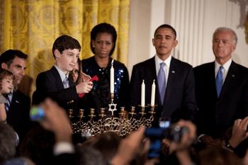2010 White House Chanukkah celebration